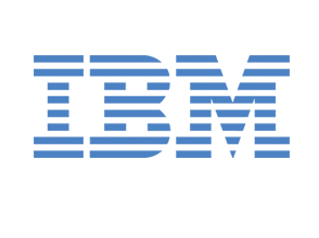 Logo of supporters, IBM