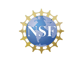 Logo of supporters, NSF, the National Science Foundation