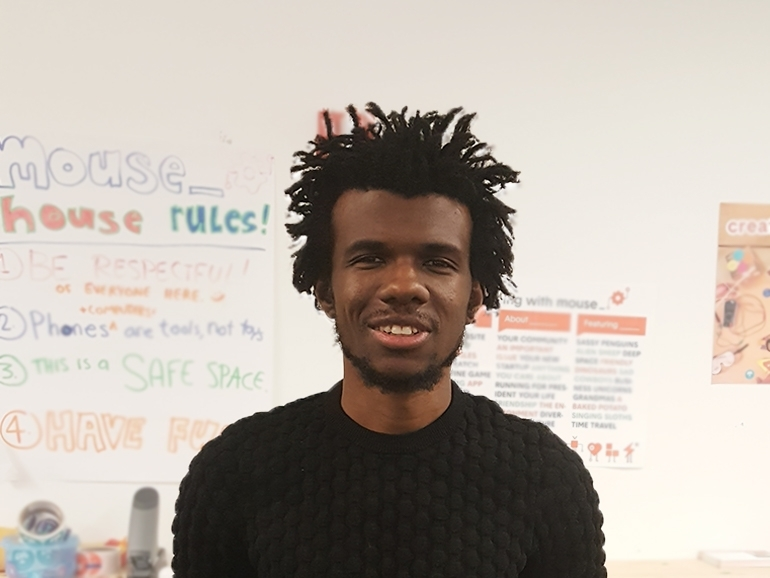 He is our Design League Facilitator, Charles