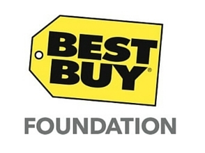 Logo of supporters, Best Buy Foundation