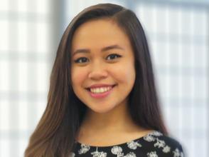 She is our Development Intern, Christina De Ramos