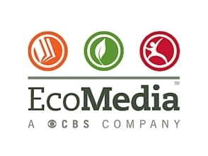 Logo of supporters, EcoMedia, a CBS Company