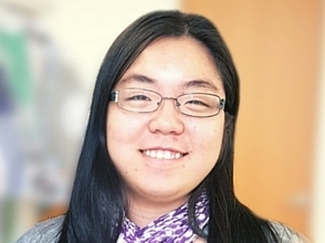 She is one of our Communications Coordinators, Peizhu Yuan