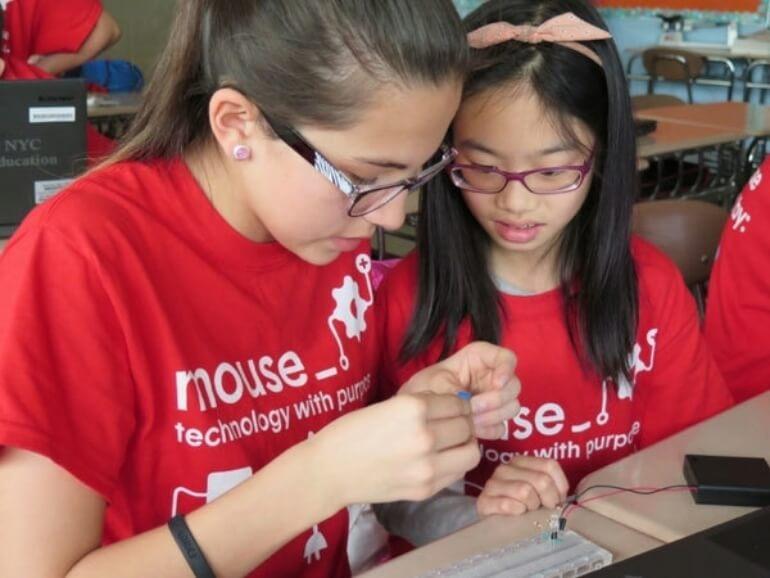 Children building project