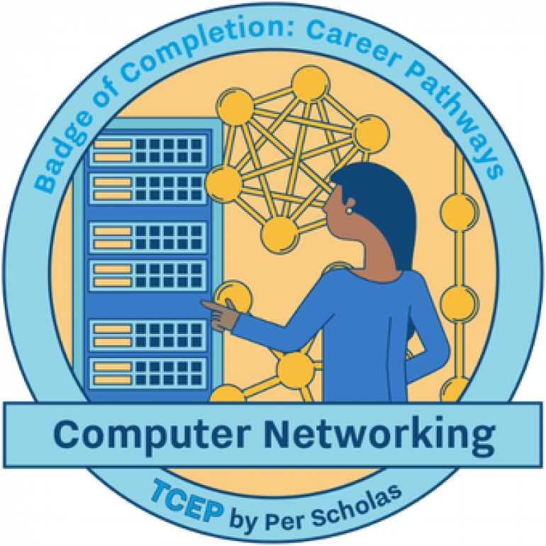 Computer Networking badge of Completion: Career Pathways TCEP by Per Scholas